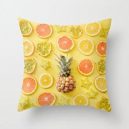Citrus Party Throw Pillow