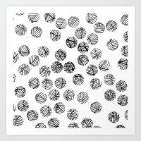 polka dots Art Prints featuring Polka Dots by Take F1ve