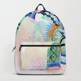 Morocco Hamsa Hand Backpack