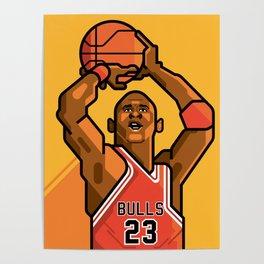 M. Jordan Poster