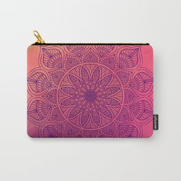 Happy Mandala Carry-All Pouch