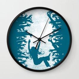 Labyrinth: Helping Hands Wall Clock
