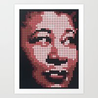fitzgerald Art Prints featuring Ella Fitzgerald by Andy Carey