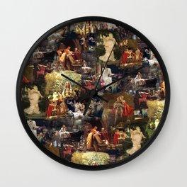 Arthurian Romances Wall Clock