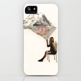 Imagination is more important than knowledge. Knowledge is limited. iPhone Case