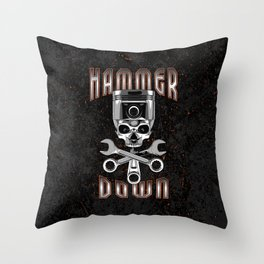 Hammer Down Throw Pillow
