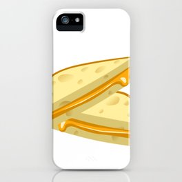 Grilled Cheese Sweet Dreams are Made of Cheese iPhone Case
