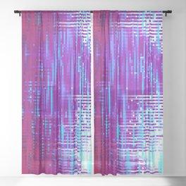 VX ON Sheer Curtain