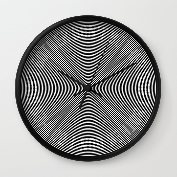 Don't Bother (Subliminal) - Black Wall Clock