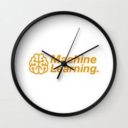 Machine Learning Wall Clock