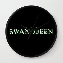 THE SWAN QUEEN Wall Clock