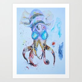 Cuttlefish Art Print