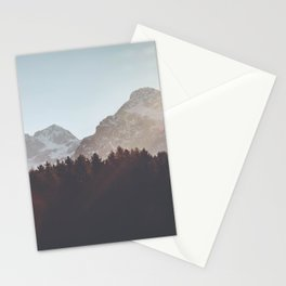 Forest&Mountains&Sky Stationery Cards