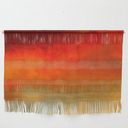 The Colors of Sunset Digital Painting Wall Hanging