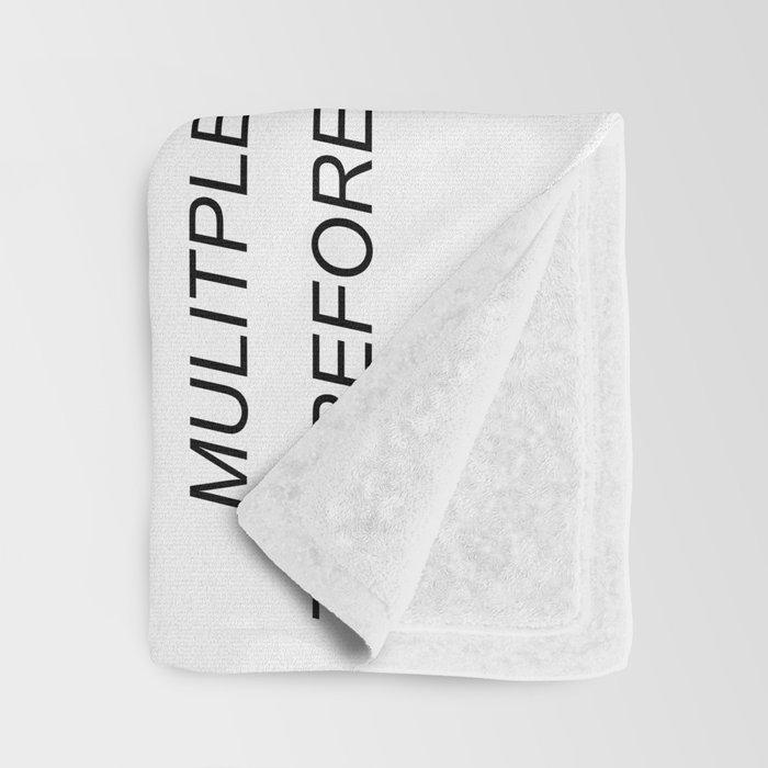 Sammi Sweetheart Letter Throw Blanket