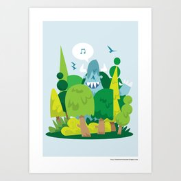 Spring has sprung.. Art Print