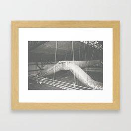 Tubos Framed Art Print