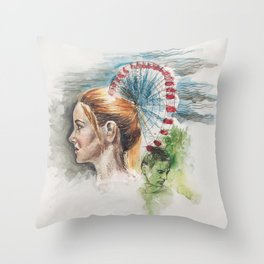 Tris Prior Throw Pillow