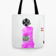 Statue Life TV · Pink Tote Bag