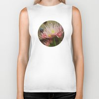 rustic Biker Tanks featuring Rustic Spring by Olivia Joy StClaire