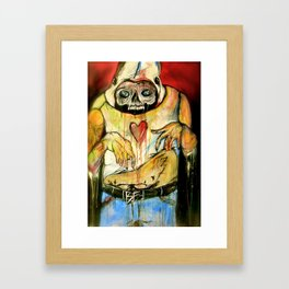I'm Deep Inside Your Children, They'll Betray You In My Name Framed Art Print