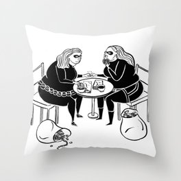 Thick as Thieves 2 Throw Pillow