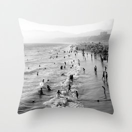 Summer Melody Throw Pillow