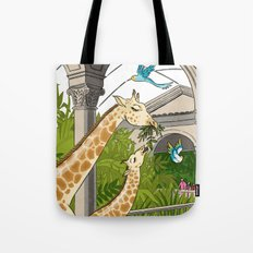 St. Louis Zoo Giraffes Tote Bag