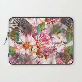Animal flowers abstract Laptop Sleeve