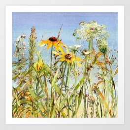 The Meadow Art Print