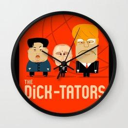 The DiCK-TATORS Wall Clock