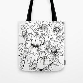 Botanical Bouquet Tote Bag
