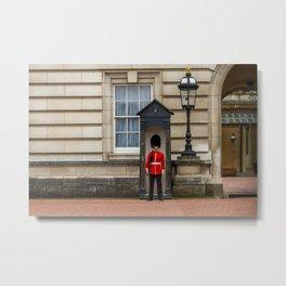 Buckingham Palace Guard Metal Print