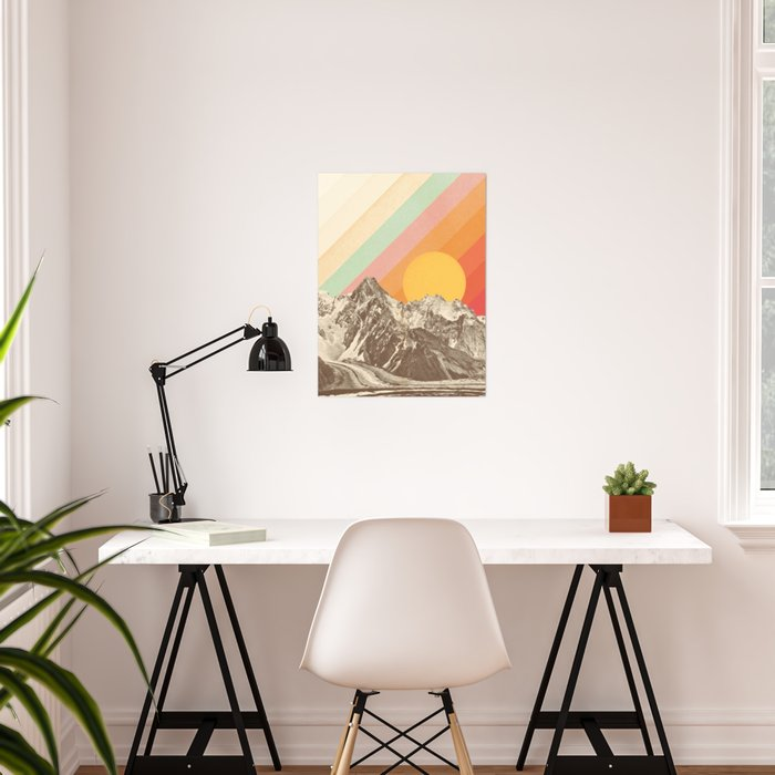 Mountainscape 1 Poster