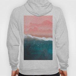 Turquoise Sea Pastel Beach II Hoody