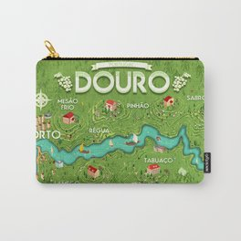 Travel Posters - Douro Carry-All Pouch
