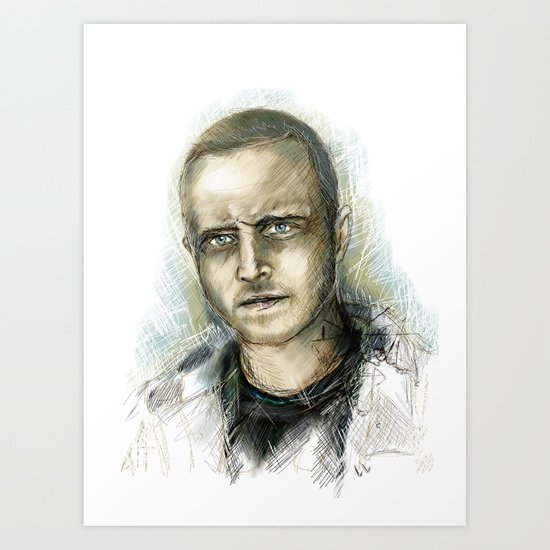 Jesse Pinkman - Breaking Bad Art Print