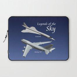 Legends of the Sky Laptop Sleeve