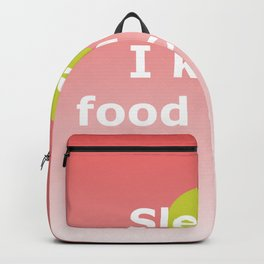 Food Coma Backpack