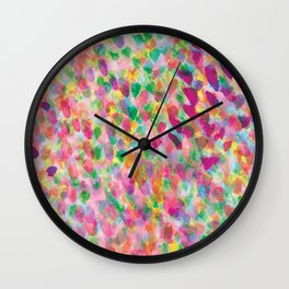 Mist Rose Wall Clock