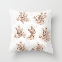 Collect failed romances Throw Pillow