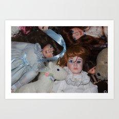dolls Art Print