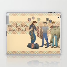 the Hunters  wear Plaid - Supernatural Laptop & iPad Skin