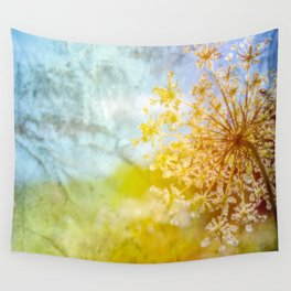 Queen Anne Lace Dreamscape Wall Tapestry