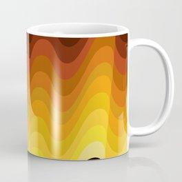 70s Ripple Coffee Mug