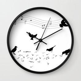 song practice Wall Clock