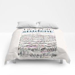 Violin student Comforters