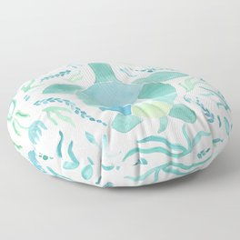 Sea Turtle Floor Pillow