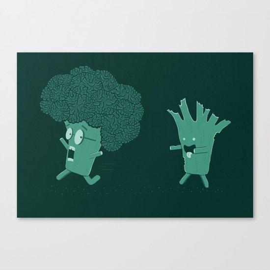 So Many Brains! Canvas Print