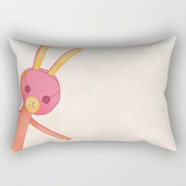 Bunny doll Rectangular Pillow